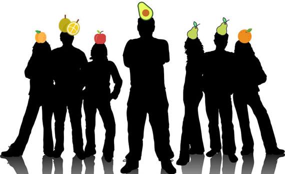 Những loại trái cây nào đang có mặt tại công ty?